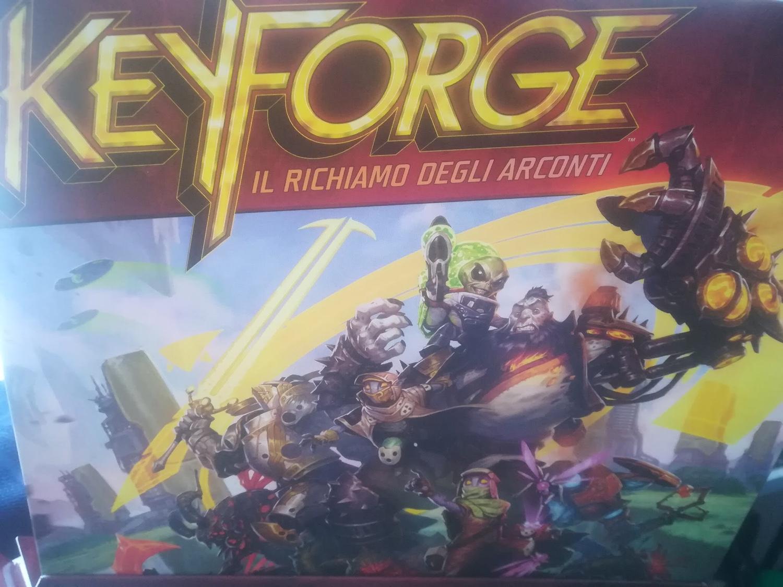 Keyforge-copertina
